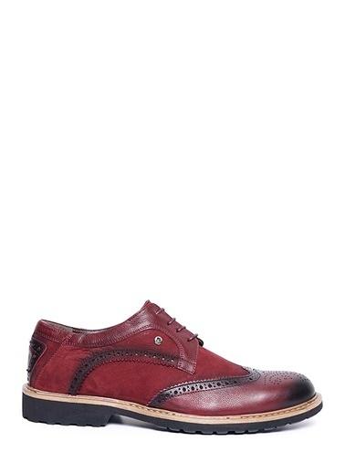 Pierre Cardin Oxford Ayakkabı Bordo